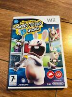 RAYMAN CONTRE LES LAPINS CRÉTINS (AVEC NOTICE) - Wii wii u JEU nintendo  FR