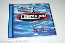 CHARTS PUR VOL.5 CD MIT LA BOUCHE - DJ BOBO - DIE FANTASTISCHEN VIER - MASTERBOY