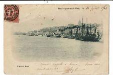 CPA-Carte Postale-France-Boulogne sur Mer- L'avant Port--1903 VM10421