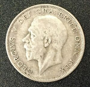 Silver George V Half Crown. Minted 1931, Fine Condition. See scans.