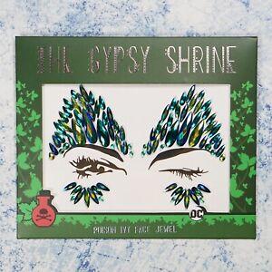 DC Poison Ivy Glitter Face Jewel - Art Festival Carnival Cosplay Gem Make Up