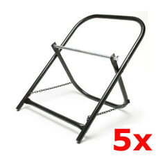 5 Pack Lot Portable Steel Folding Cable Caddy Reel Spool Holder Tube Wire Puller