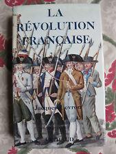 1966 La révolution française Levron Arthaud Histoire illustré