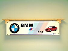 Banner BMW M3 E30 Veicolo Officina Display CAR SHOW