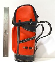 Novelty Miniature-sized Vinyl Golf Bag - Desk-Sized