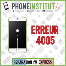 Reparation erreur 4005 itunes iphone 3G