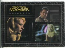 Star Trek Voyager Quotable Best Of The Holodeck Chase Card H9