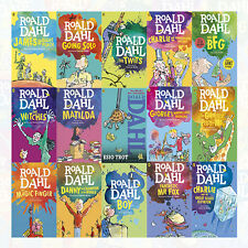 Roald Dahl Children's Books Collection 15 Books Set (The Twits) BrandNew Pack