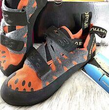 LA SPORTIVA Tarantula Rock Climbing Shoes Orange Mens SIZE EU 40.5 • UK 7 • US 8