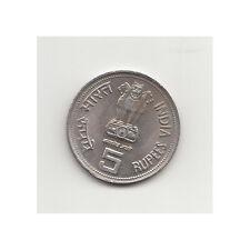 Indien 5 Rupees 1985 Indira Gandhi Nr. 14/1/16