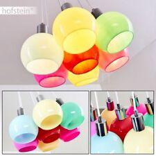 moderne Glas bunt Pendel Leuchten Wohn Schlaf Ess Raum Beleuchtung Hänge Lampen