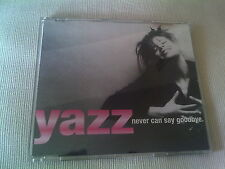 YAZZ - NEVER CAN SAY GOODBYE - UK CD SINGLE