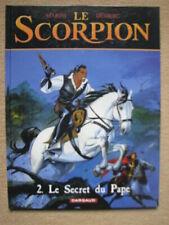 """MARINI & DESBERG - LE SCORPION T2 """"LE SECRET DU PAPE"""" - DARGAUD DL 2001"""
