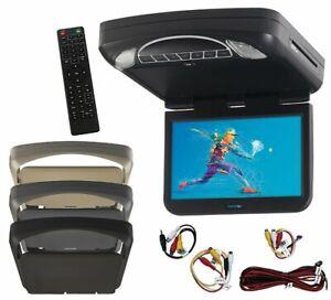 Audiovox 13.3″ Car Overhead Monitor w/ DVD Player & Color Skins - MTG13UHD