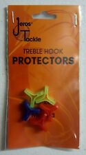 5 Pack Plastic Treble Hook Protector Covers Lures Holders Fits Sizes 4, 6, 8, 10