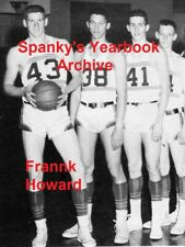 1950's Dodgers Washington Senators Frank Howard High School Yearbook~ROY~AS~WS++
