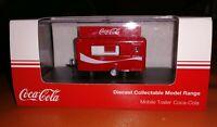 OXFORD DIECAST COKE COCA-COLA MOBILE FOOD TRAILER 76TR015CC NEW 1:76 SCALE