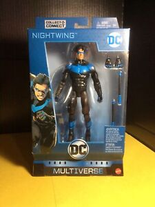 DC Multiverse Nightwing Figure New. Ninja Batman. No baf. Read description.
