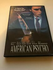 American Psycho (Dvd, 2003) Used - Ok Condition