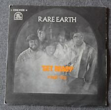 Rare Earth, get ready / magic key, SP - 45 tours