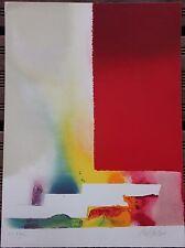 Paul JENKINS - Lithographie signée HC lithograph expressionnisme abstrait *