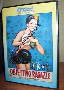MUSICARELLI OBIETTIVO RAGAZZE DVD NUOVO SIGILLATO FRANCO E CICCIO