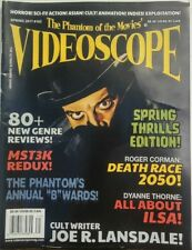 The Phantom of the Movies Videoscope Spring 2017 Thrills Edition FREE SHIPPING s