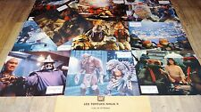 LES TORTUES  NINJA  2 ! Ninja Turtles jeu photos cinema lobby cards fantastique