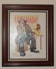"Emmett Kelly ""Lemonade"" Limited Edition S/N Oil On Canvas & signed by EKJ"
