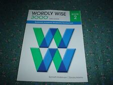 Wordly Wise 3000 3rd. Edition Book 2 Paperback New