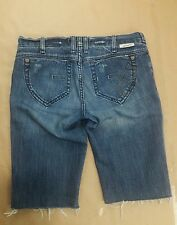 J Company Laurel Cut Off Shorts Womens Button Fly Size 27