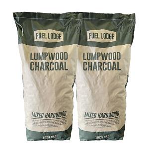 Fuel Lodge 20kg Lumpwood Charcoal - Mixed Hardwood Oak, Ash and Hornbeam