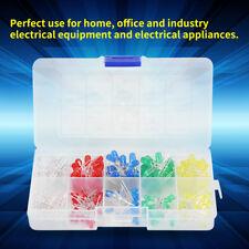 200pezzi 3mm 5mm Diodi Alta Luminosita  LED Colore bianco/rosso/blu/giallo KIT