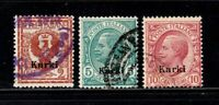 Italy stamps, Aegean Islands, Calchi # 1 - 3, used, SCV $28.50