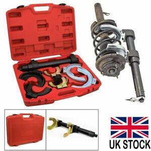 Macpherson Strut Coil Spring Compressor Fork Dumper Extractor Yolk Protector UK