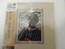 King Crimson - Level Five Japan Import Mini LP w/Obi/Inserts Near Mint OOP