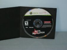 Rock Revolution Xbox 360 Game Only T Teen Free Shipping