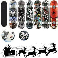 Skateboard Komplettboard 31 x 8Zoll mit ABEC-7 Kugellager 9-lagigem Ahornholz DE