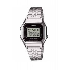 Reloj Casio Vintage LA680WEA-1EF Color Plata Digital