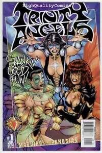 TRINITY ANGELS #1, NM+, 3 Sisters, Good girls, Femmes