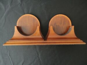 "CHELSEA SHIPS BELL Wood Base Stand fits the 4"" Chelsea and Barometer listed"