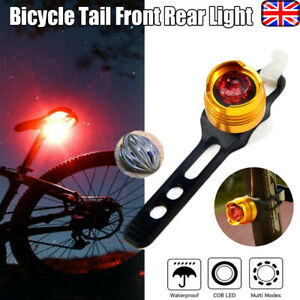 two bike lights set small ruby led aluminium leds for cycling and outdoor UK