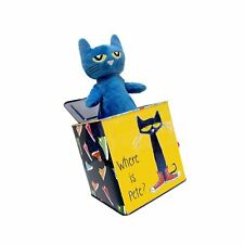 """Pete The Cat Jack-in-The-Box, 7"""""""