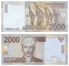 Indonesia 2,000 Rupiah 2009 Replacement P-148aR  Banknotes UNC