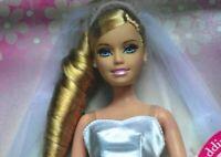 2006 Mattel Barbie Doll blonde bride Wedding Ring Wedding Ring Twinkles