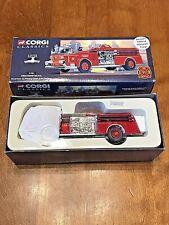 NEW 1998 Corgi Classics Westminster FD American La France Open Cab Pumper (1:50)