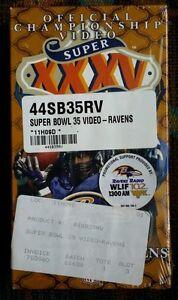 Super Bowl XXXV 35 Champions: Baltimore Ravens Official VHS Football Video