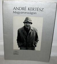 Andre Kertesz Magyarorszagon Limited ED 90th Birthday 1st PB DJ Janos Bodnar