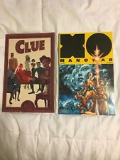 Pair of Comics: Clue and XO Manowar Soldier
