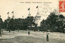Carte PARIS Porte Maillot Luna Park